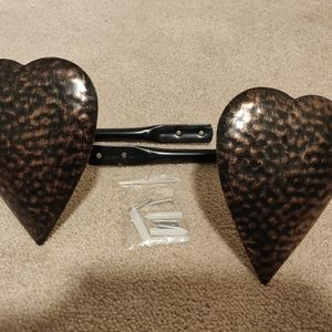 Accents - Country Heart Curtain Tie Backs